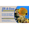 J.R. & Son. Fresh/Salt Water Aquarium / Pond Service